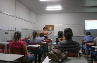 Reunião para formação em preceptoria do estágio de Psicologia Escolar 1 e 2